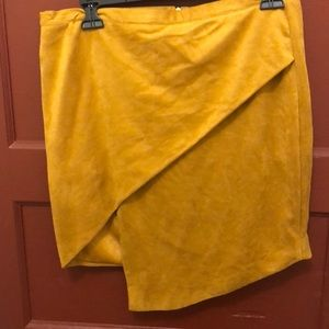 Dresses & Skirts - Large Suede Skirt